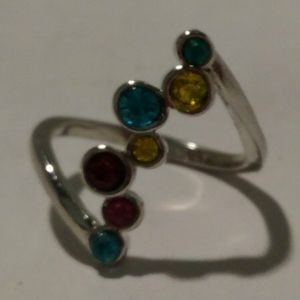 Multi-Gem Ring